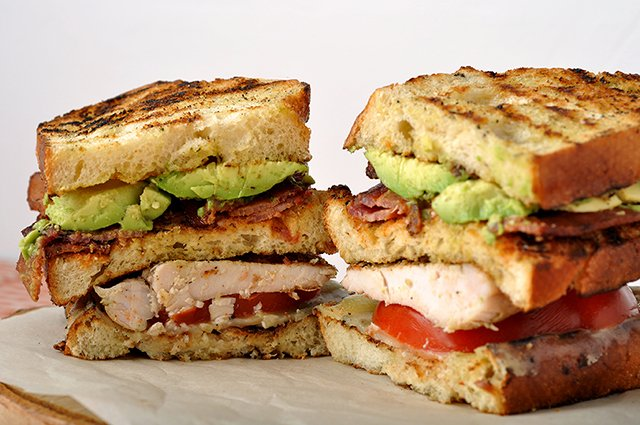 BBQ Turkey Club with Spicy Mayo
