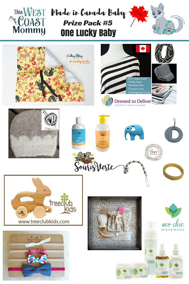 Made in Canada Baby Prize Package 5