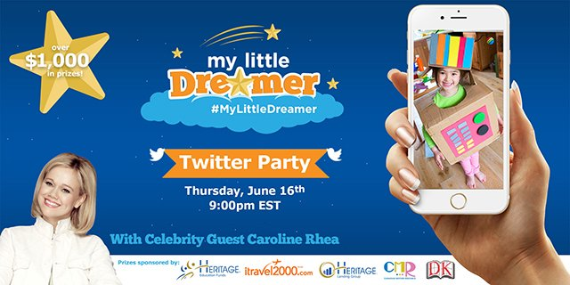 MyLittleDreamer Twitter Party