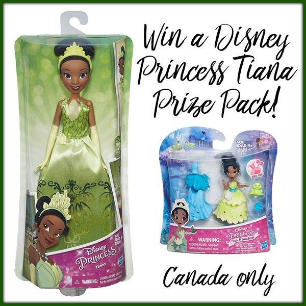 Win a Disney Princess Tiana package