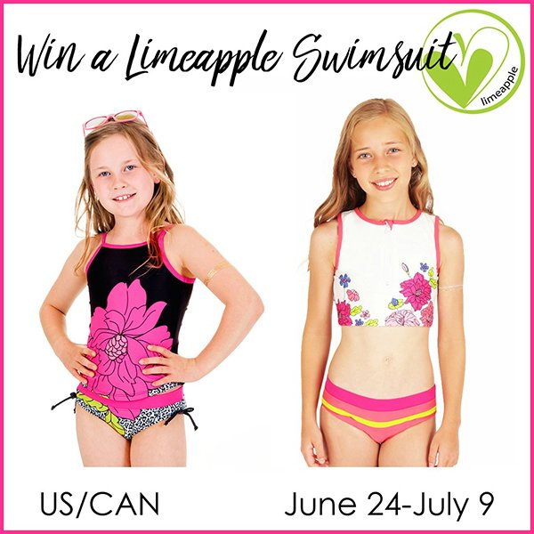 Win a Limeapple swimsuit (US/CAN, 7/9)