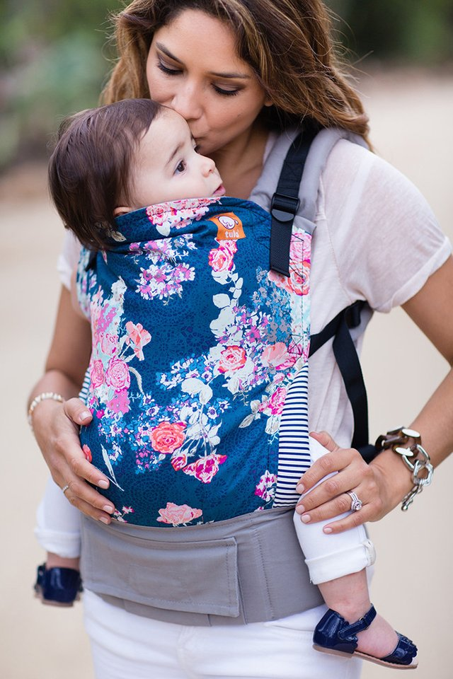 Win A Tula Baby Carrier In Flora Blue Closed This