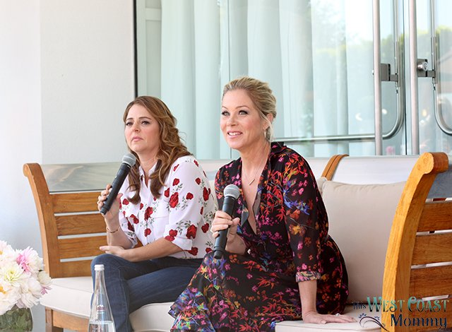 Hanging out with Christina Applegate and Annie Mumolo