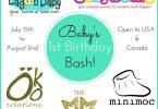Baby's 1st Birthday Bash Giveaway {Closed}