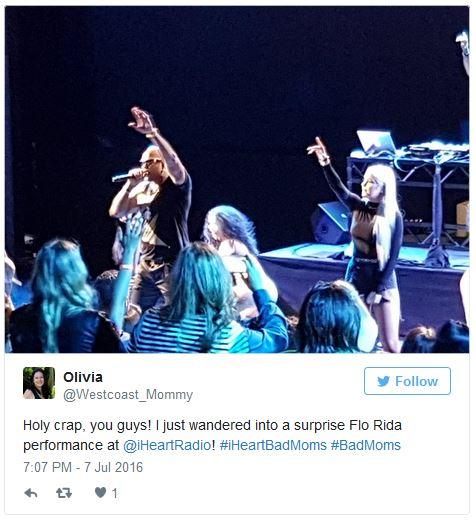 Surprise Flo Rida concert at iHeartRadio
