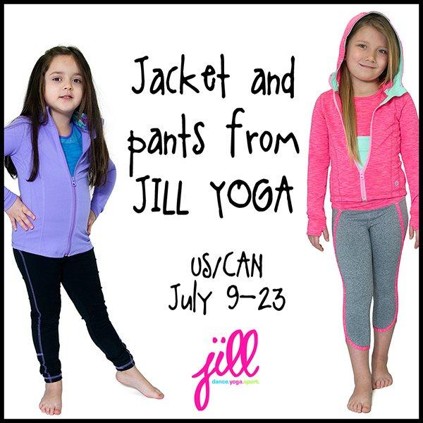 Jill Yoga giveaway