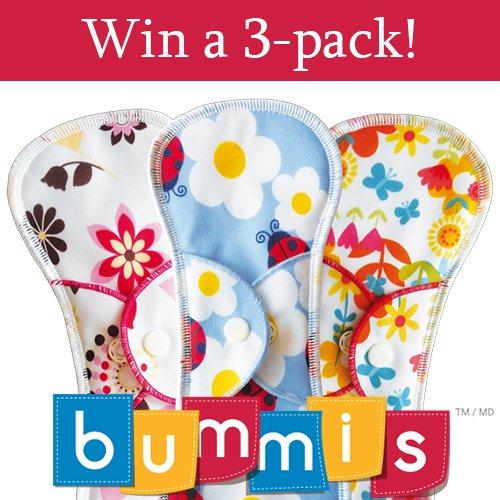 Win Bummis Fabulous Flo cloth pads