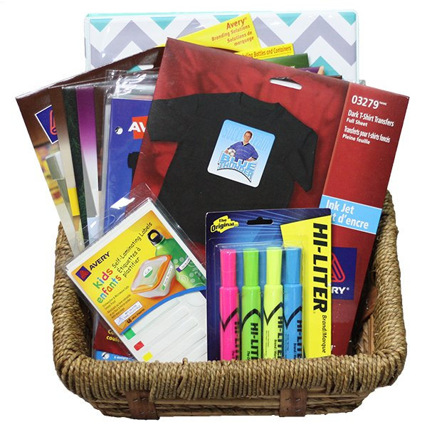 Win an Avery back to school prize pack (CAN, 8/25)