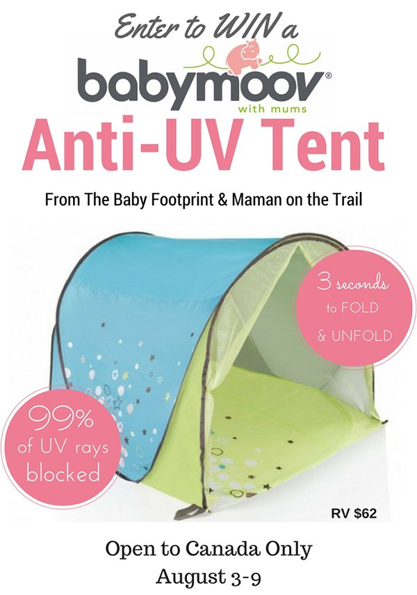 Enter to win a Babymoov Anti-UV Tent (CAN 8/9)  sc 1 st  This West Coast Mommy & Win a Babymoov Anti-UV Tent Closed | This West Coast Mommy