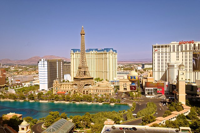 Las Vegas Strip daytime
