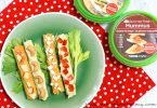 Celery Logs with Hummus: Back to School Snacks