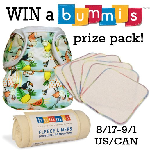 Win a Bummis prize pack (US/CAN, 9/1)