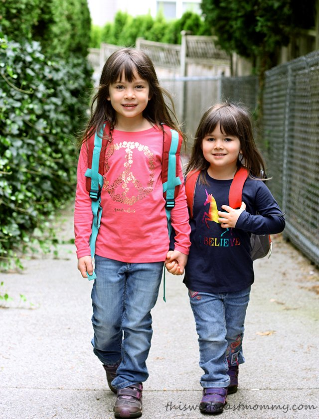 Carter's OshKosh B'Gosh is our destination for back to school!