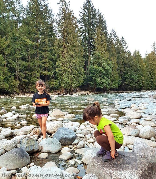 exploring the Chehalis river