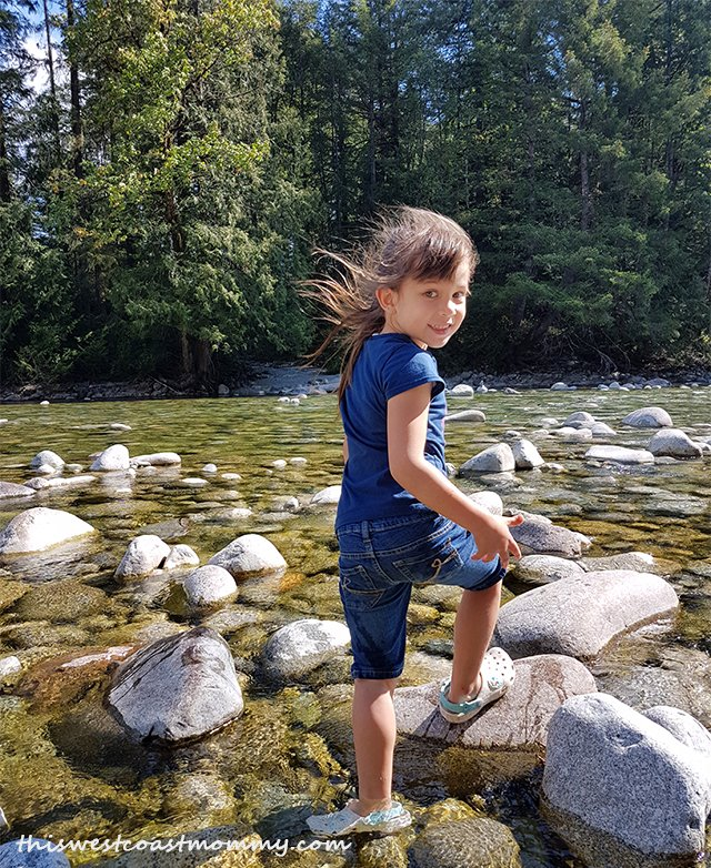 river wading