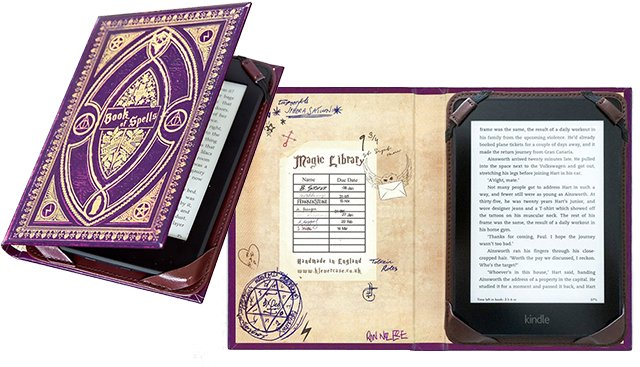 Book of Spells Kindle E-reader Case