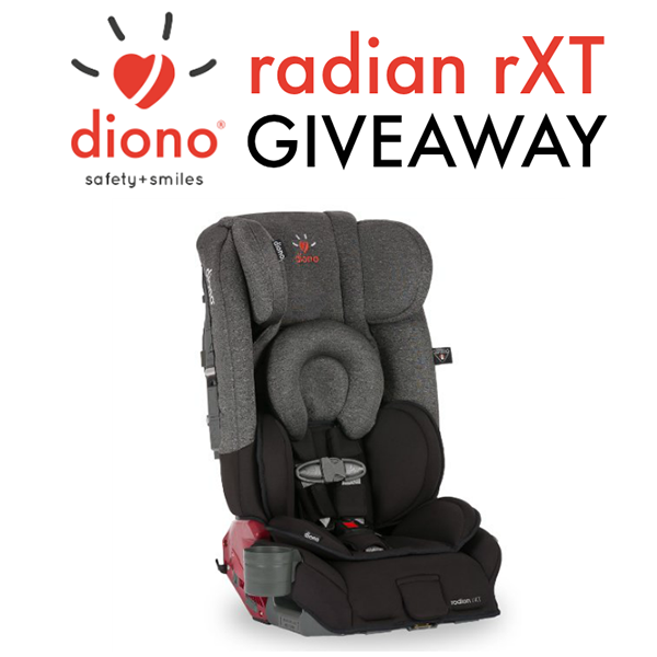 Win a Diono Radian RXT Convertible + Booster Car Seat | This West ...