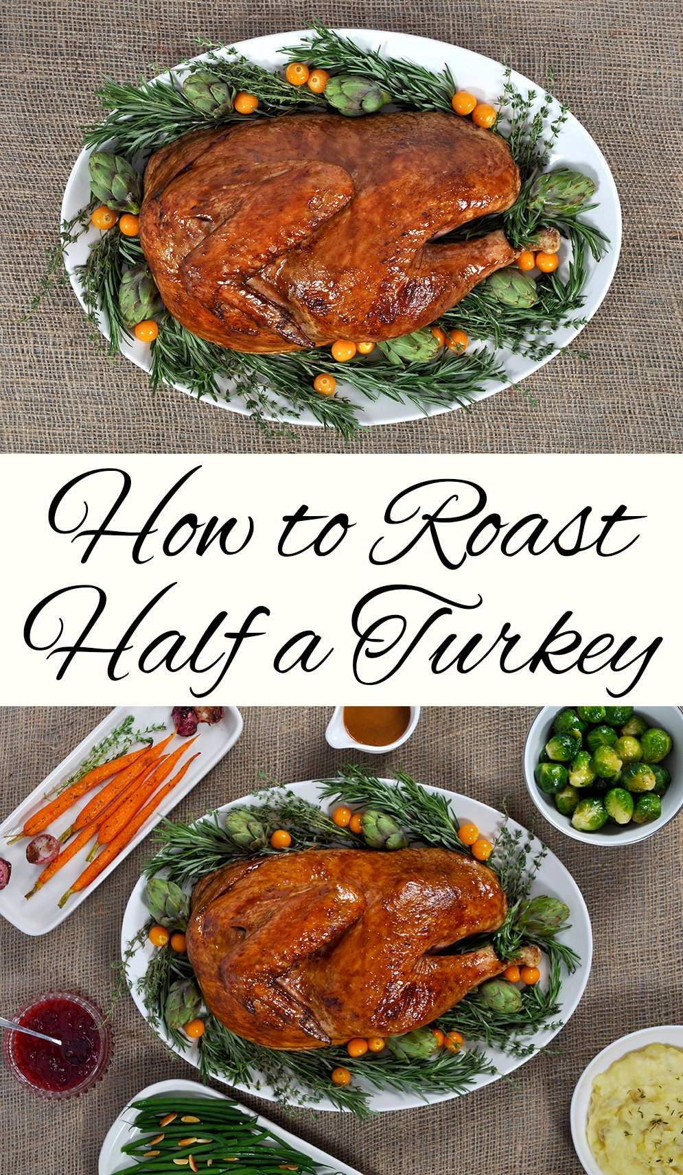 How to Roast Half a Turkey for Thanksgiving - This West Coast Mommy