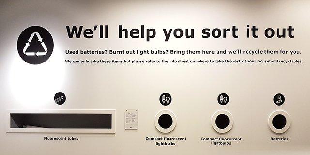 Ikea recycling program