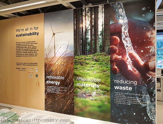 Ikea sustainability panels