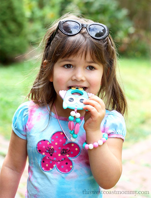 "Munchables sensory ""chewelry"" is more than just a fun fashion accessory. It's also a safe, non-toxic alternative for older kids who like to chew!"