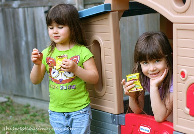 The kids love snacktime with Mott's Fruitsations +Veggie fruit flavoured snacks.