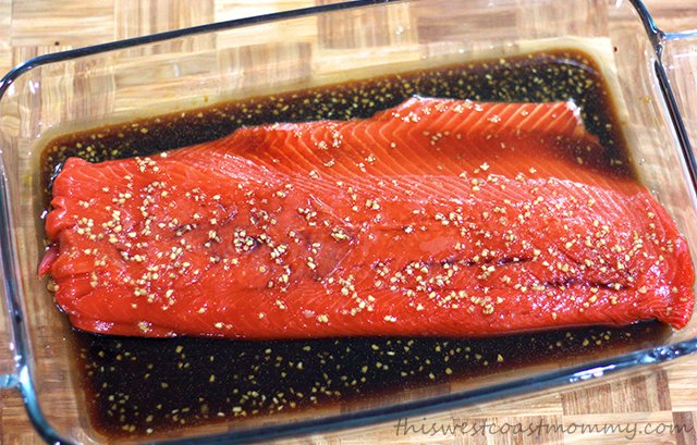 Maple Soy Glazed Salmon And The Gift Of Fish This West Coast Mommy