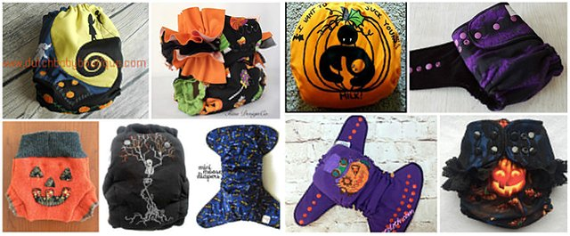 2015 Halloween Cloth Diaper Roundup