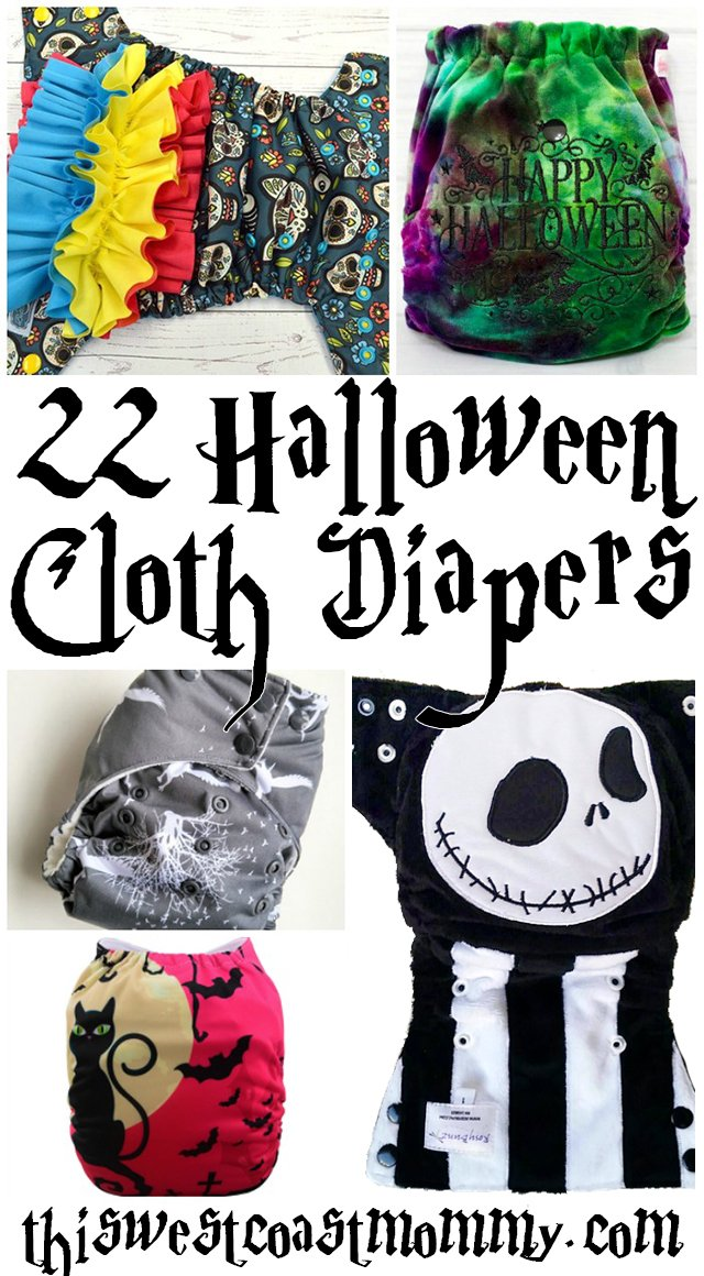 22 Halloween Cloth Diapers. Discover talented new WAMHs and diaper artists, and check out some fun new Halloween prints.