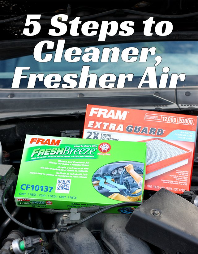 5 steps to fresher, cleaner air