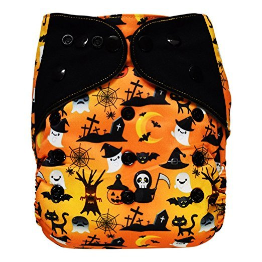 Ecoable Halloween pocket diaper