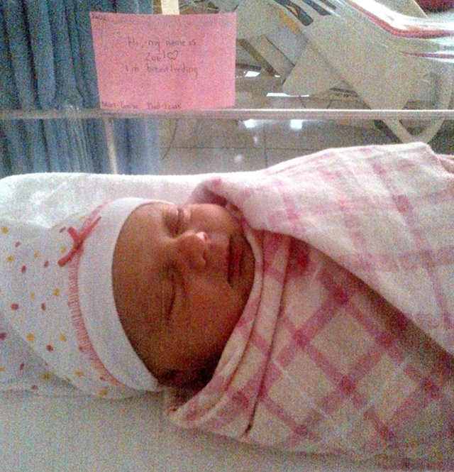 Louise's birth story: When a Maternity Nurse Has Her First Baby