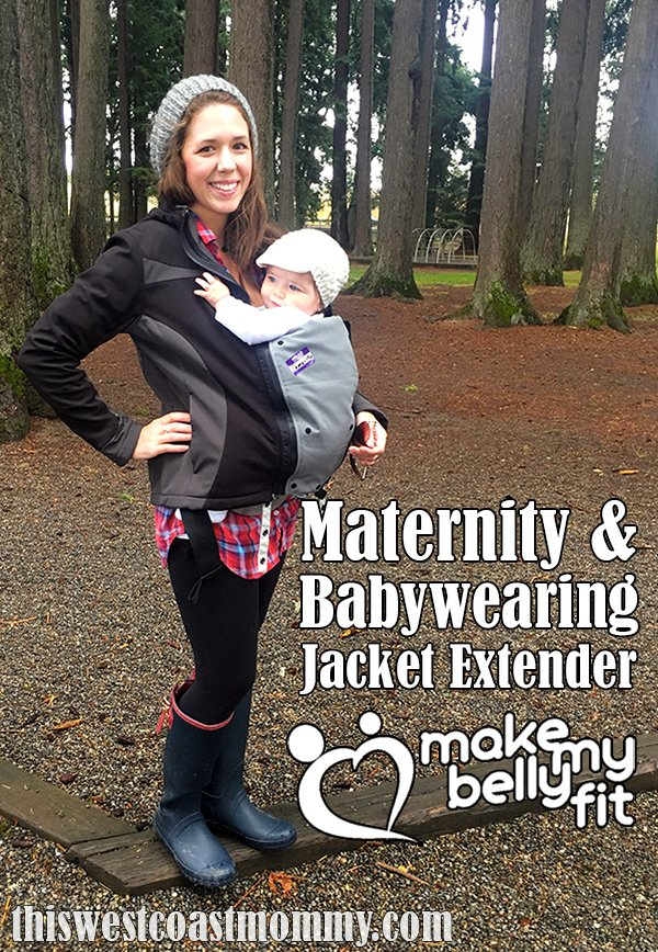 5fbc89bf2cb3 MakeMyBellyFit Maternity and Babywearing Jacket Extender Review ...