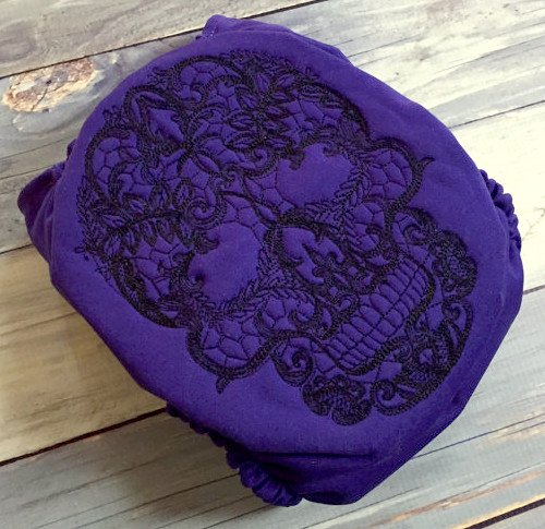 Rooska lace skull AI2 diaper