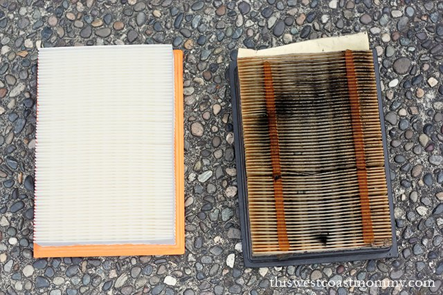 new vs old engine air filters