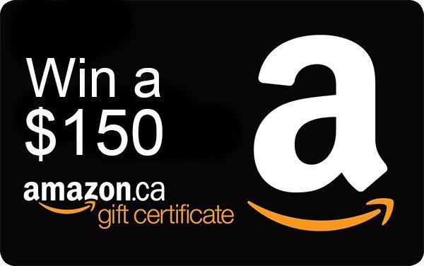 $150 Amazon gc giveaway