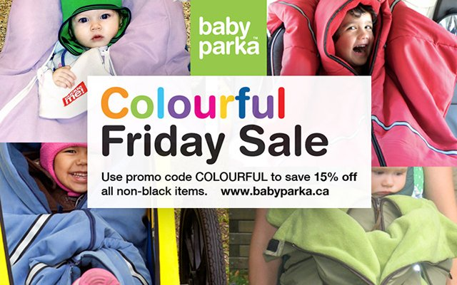 Baby Parka Black Friday 2016