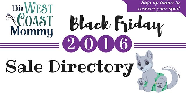 Black Friday 2016 Sign Ups