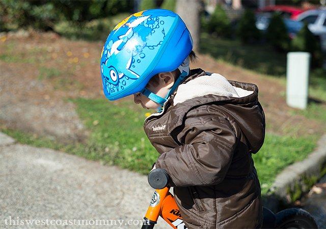 Brooks on bike