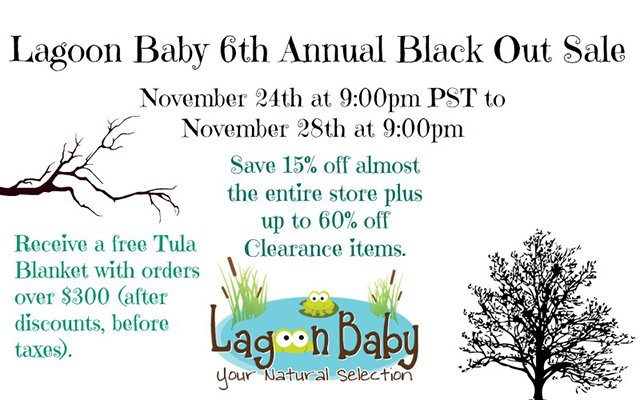 Lagoon Baby Black Friday