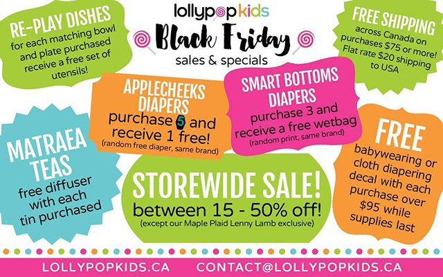 Lollypop Kids Black Friday