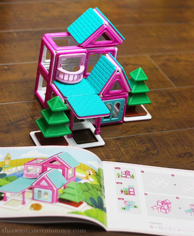 Magformers Sweet Home Vacation Home