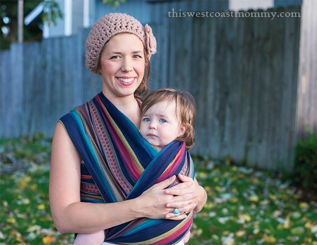 Maman Kangourou woven wrap