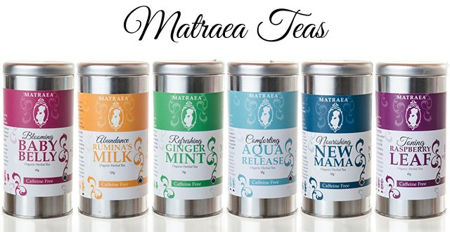 Matraea's pre- and post-natal teas