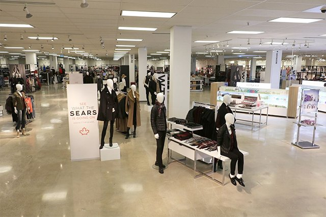 You'll love the new look of Sears Canada!
