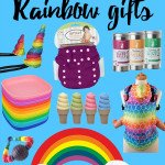 Rainbow Gift Ideas from Lollypop Kids {Win a Wet Bag & Unicorn Horn!}