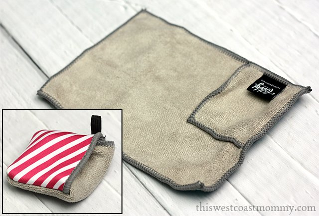I like gifts that are practical and attractive at the same time, and Toddy Gear fashion-forward microfiber cleaning cloths and accessories fit the bill perfectly.
