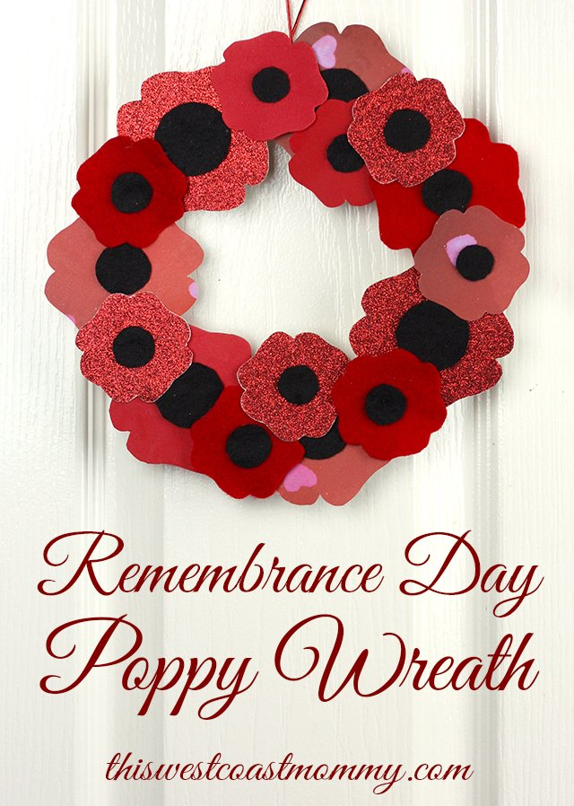 Remembrance Day Wreath Craft