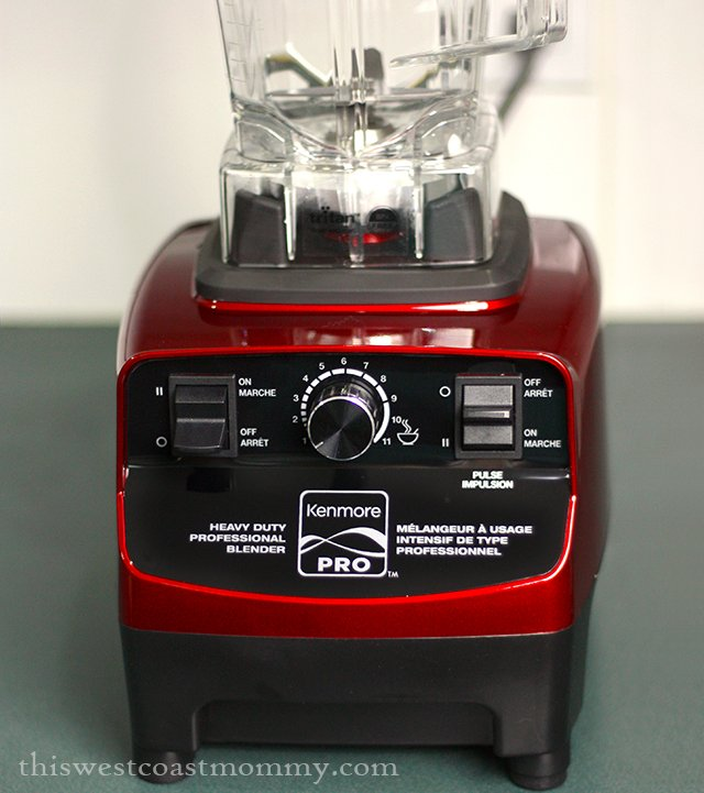 Sears Kenmore Pro heavy duty blender controls