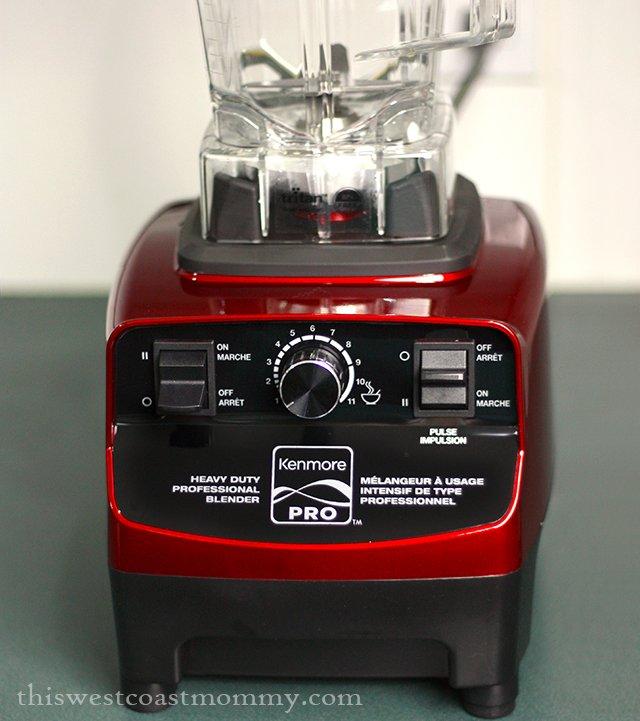 Sears Kenmore Pro heavy duty blender controls